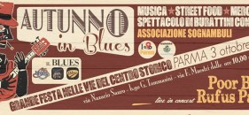 RUFUS PARTY @ AUTUNNO IN BLUES – PARMA – 3 OTTOBRE 2015